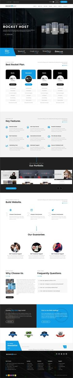 Rocket host is a wonderful 3in1 responsive #HTML5 bootstrap template for web #hosting #company websites download now➩ https://themeforest.net/item/rocket-host-responsive-web-hosting-html-template/19162173?ref=Datasata