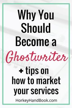 Ever thought of becoming a ghostwriter? Here's how you can turn ghostwriting into a career. via Gina Horkey Source by ghorke Online College Degrees, Mba Degree, Freelance Writing Jobs, Harvard Business School, Starting Your Own Business, Work From Home Moms, Business Management, Way To Make Money, Extra Money