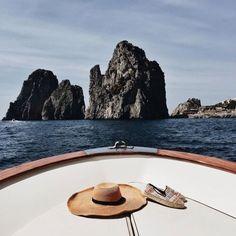 Positano and Capri