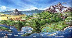 Earth Science - Landforms... Mountain, Continent, Plateaus, river, glacier, wind, wave etc.