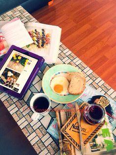 Lazy autumn morning & breakfast
