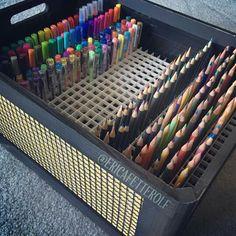 Penn organizing system for bullet journal