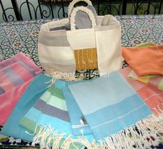 fouta (turkish towel)  - towels, guest towels, sarongs, shawls, tablecloths and napkins