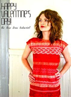 lace dress tutorial - adult
