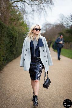 STYLE DU MONDE / London Fashion Week FW 2014 Street Style: Charlotte Groeneveld of TheFashionGuitar // #Fashion, #FashionBlog, #FashionBlogger, #Ootd, #OutfitOfTheDay, #StreetStyle, #Style
