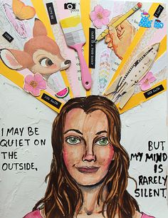 @punkprojects | Season of Introspection | Get Messy Art Journal | Creative team Inspiration