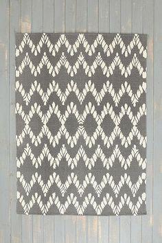 magical thinking chevron rug