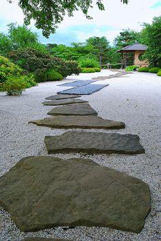 Pathway of the Gods - Japanese Rock Garden, Chicago Botanic Garden