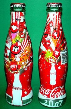 Coca-Cola 2007 NEW YEAR TURKEY LIMITED EDITION glass bottle