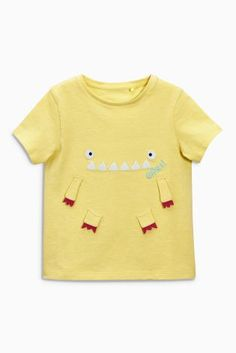 Buy Yellow Monster T-Shirt (3mths-6yrs) online today at Next: United States of America