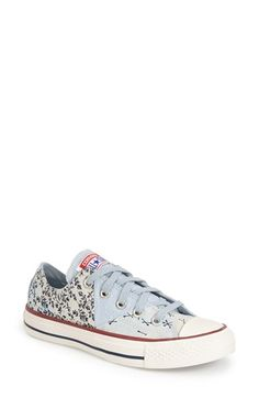 Converse Chuck Taylor® All Star® Patchwork Bandana Canvas Sneaker (Women) available at #Nordstrom