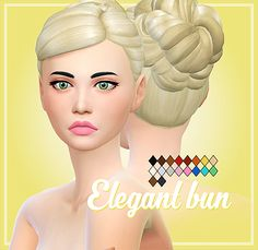 Hello everyone! Here are some new hairstyle for you :) I hope you will like it! It comes in the ea colors ♥ ————————-T.O.U————————— ♥ • You CAN recolor/retexture but please don't include the mesh and...