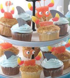 Docinhos para festa com tema de fundo do mar!