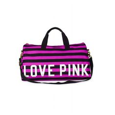 Victoria'S Secret Duffle ($45) ❤ liked on Polyvore