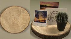 Leuk om je kaarten te bewaren. Heel makkelijk te maken van een stuk hout! De video en het stappenplan vind je op de site! #DIY #doityourself
