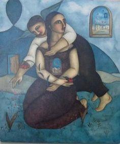 """""""Couple"""" by Hannetjie de Clercq"""