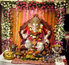Home Decoration For Ganpati Festival Flisol Home
