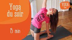 Delphine Bourdet, professeur de Yoga, vous propose une routine de Yoga à pratiquer le soir pour évacuer toutes les tensions de la journée. N'hésitez pas à pratiquer cette séance sur votre lit et à terminer par une relaxation pour vous endormir détendu(e).