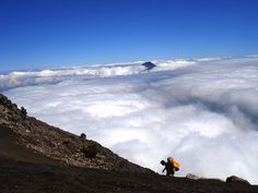 Hiking to the top of Acatenango volcano, one of the most extreme adventures of Guatemala!