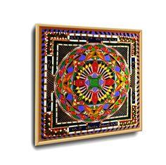 #RANO_Rin_MUKTI YANTRA #ENERGETISCHE_Kunst von #Art_Heil_Studio #Dr_Mariia_Bohach (#MariRich) #kunst #malerei #regenbogen #jubilaum #muttertag #mandala #yantra #geschenk #geburtstag #meditation #art_therapie Meditation, Mandala, Playing Cards, Tapestry, Etsy, Vintage, Frame, Studio, Decor