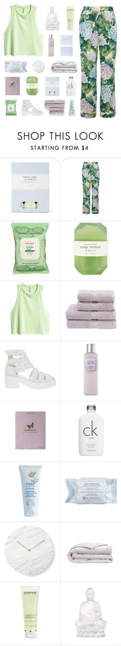 """GO AS FAR AS YOU CAN."" by gintare-13 ❤ liked on Polyvore featuring Laura Ashley, Dolce&Gabbana, Burt's Bees, Pelle, H&M, Christy, ASOS, Laura Mercier, Kelly Wearstler and Calvin Klein"