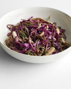 """See the """"Soba Noodle Salad with Chicken and Scallions"""" in our Quick Main-Course Salad Recipes gallery"""