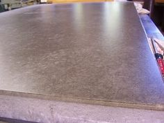 Another polished concrete kitchen bench/counter top tutorial. I love these, I really do