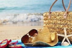 Beach bags ARE a big deal! They are packed with all your must-haves for the perfect beach day! Fill in the blank and tell us what you simply cannot hit the beach without! My beach bag must have is my ____________?