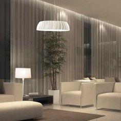 Egolucen Megawide korkealuokkainen valaisin julkisiin tiloihin ja hotelliin. Häikäisemätönta valoa tuottava valaisin löytyy erikoisina versioina. Led, Lighting, Design, Home Decor, Decoration Home, Room Decor, Lights, Home Interior Design