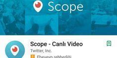 Periscope Türkiye'de adını değiştirmek zorunda kaldı. Periscope Türkiye'de adını değiştirmek zorunda kaldı. Peki Neden ? Twitter 'in satın aldığı Periscope - Canlı yayın yaparak anı…