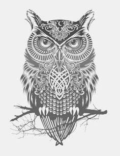 owl tattoo - Pesquisa Google