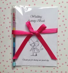 A6 Bride and Groom Design Childrens Wedding by LoveInColours, £1.75