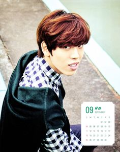 #인피니트 Dongwoo - 2016 Season Greetings Calendar