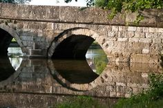 "Ottoman bridge known as ""Roman Bridge"" on the Mala Bosna river at Plandište, Vrelo Bosne-Ilidža, Sarajevo"