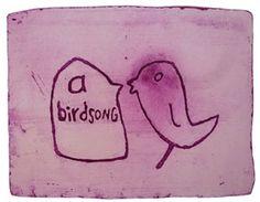 birdsong 6 by Stefanie Neumann over Galerie Kruse http://galeriekruse.bigcartel.com/