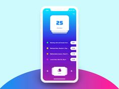 IPhone X - Transition ( Home <-> App ) Concept by Javier Oliver