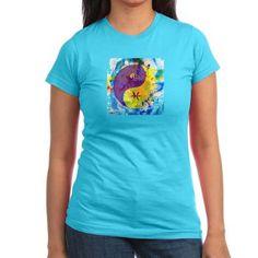$26.99 65 Mcmlxv Tie-Dye Ying/Yang Junior T-Shirt www.cafepress.com/65mcmlxv #cafepress