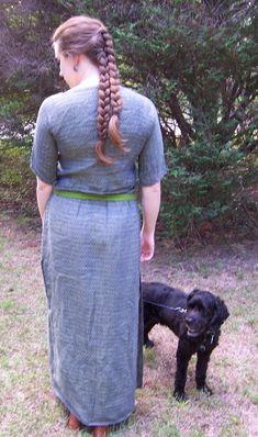 Bronze Age Bog dress (and Elling woman hair!)