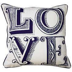 Emma Bridgewater Love Cushion