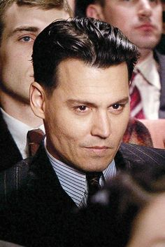 Johnny Depp In Public Enemies (2009) - @Melissa Rodriguez and I tried so hard to see him when he filmed in WI.