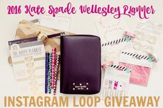 #PlannerAddict? Who isn't! I have teamed up with some amazing bloggers to bring you a chance to win a 2016 Kate Spade Wellesley Planner along with some #planner goodies like #washitape #stickers and pens!  Read the directions below and head then head to @jenngaffney  Heres How to Enter the #Giveaway! FOLLOW ME @mommalewsblog LIKE THIS POST (that is your entry)  FOLLOW @jenngaffney and go to their page next REPEAT steps 1-3 in every photo until you make your way back here. FOLLOW LIKE FOLLOW…