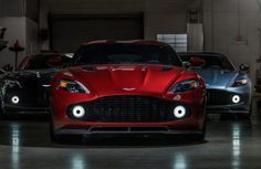 Three Aston Martin Vanquish Zagatos in One Place