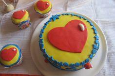 Torta y muffins de Plim Plim para cumpleaños !