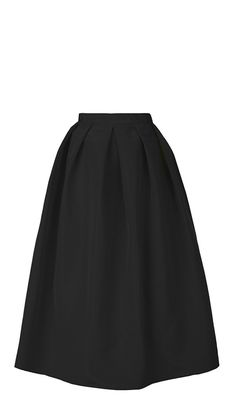 Tibi - Silk Faille Full Skirt