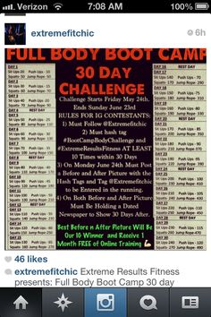 30 day fitness challenge. Now this one LOOKS challenging!