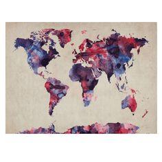 Trademark Fine Art Watercolor Map by Michael Tompsett Canvas Artwork, 22 by 32-Inch Trademark Fine Art http://www.amazon.com/dp/B00CX1E8UW/ref=cm_sw_r_pi_dp_5QYNub1J1DHNS