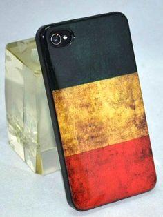 Retro German Flag Pattern Case ForIPhone 4/4S - VeryShop.com