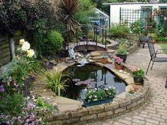Garden Pond Design Ideas : Garden Pond Construction And Design. Garden pond construction and design. how to make a small garden pond,pond garden ideas
