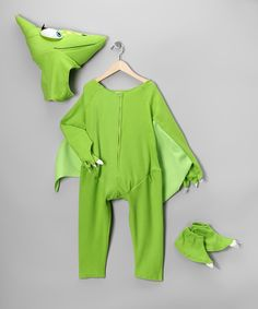 Take a look at this Green Tiny Dinosaur Train Dress-Up Set - Toddler & Kids on zulily today!