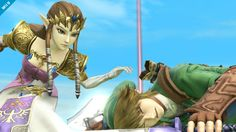 Super Smash Bros. for Nintendo 3DS / Wii U: Zelda (Wii U 8)